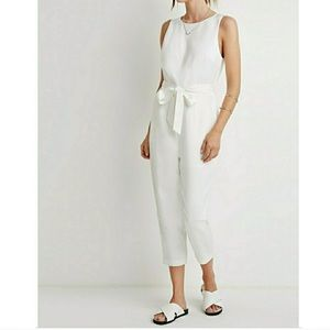 White Forever 21 Jumpsuit